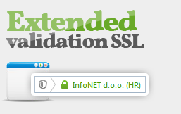 Extended Validation SSL certifikati